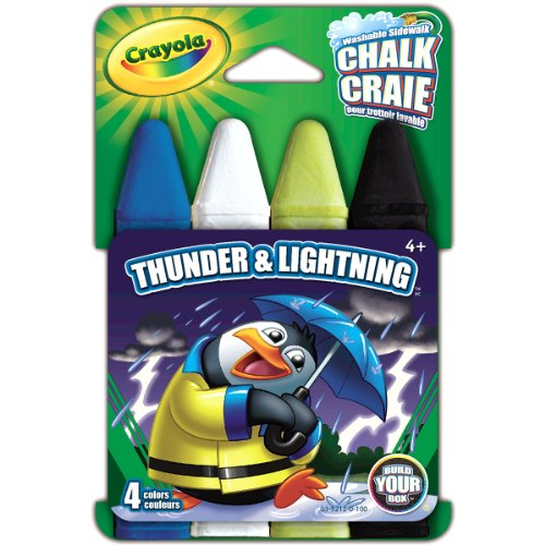 Crayola Build Thunder Lightning Chalk