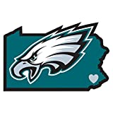 Best Decal For Homes - NFL Philadelphia Eagles Home State Decal, 5