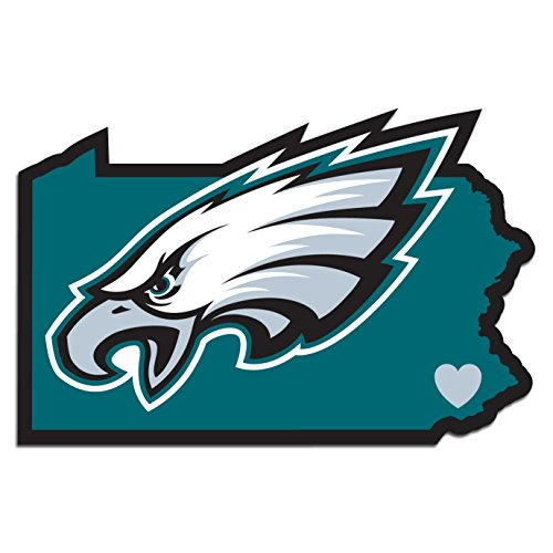 NFL Philadelphia Eagles Home State Decal, 5