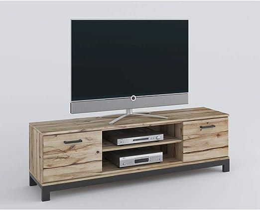 roominado Nina - Mueble bajo para televisor (170 x 51 cm, Madera ...