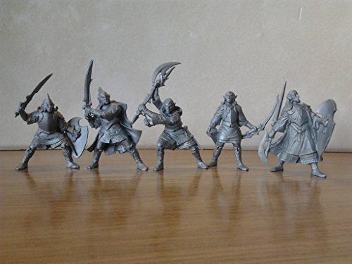 Supreme Elves 54 mm 1/32 - 5 History Figures Tehnolog Fantasy Battles Russian Toy Soldiers ()