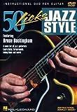50 Licks Jazz Style  DVD