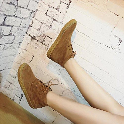 Cheville Tm Femme Dames Chaussures Martin Plat Deesee Souple qZn7wxd6I6