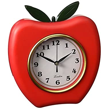 Kole Red Apple Wall Clock