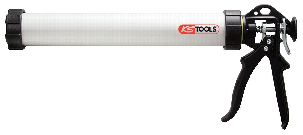 KS TOOLS 980.3000 Pistolet à silicone - pour cartouches 600 ml et poches 4042146058657