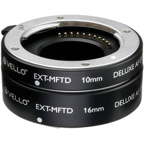 Vello Deluxe Auto Focus Extension Tube Set for Micro Four Thirds Mount(6 Pack)