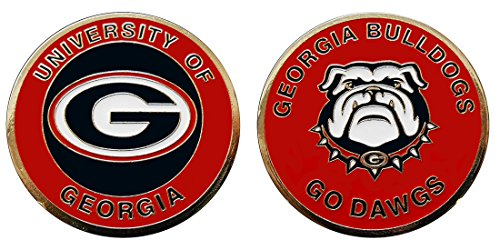University of Georgia Bulldogs Challenge Coin by Coin and Coins