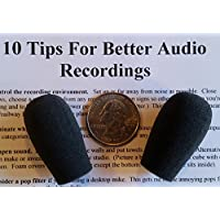 Compete Audio BS30 replacement microphone windscreens...