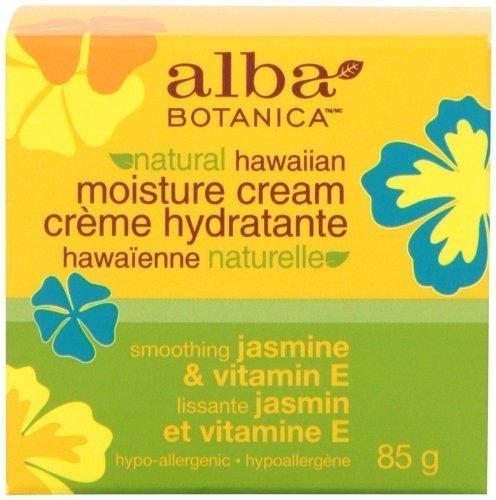 Alba Botanica Jasmine & Vitamin E Moisture Cream, 3 Ounce by