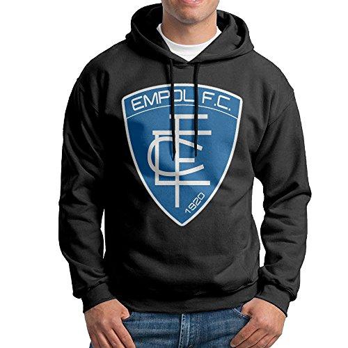 - Man Empoli F.C. Logo Custom Cool 100% Cotton Hoodies Black Size S