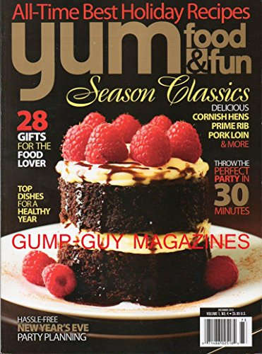 Yum Food& Fun Magazine (Season Classics, December 2010)