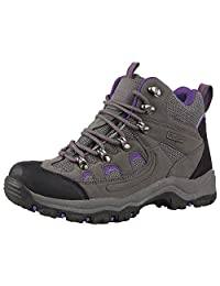 Mountain Warehouse Adventurer Women's Waterproof Boots - Waterproof, Synthetic & Textile Fabric, Added Grip, Comfortable - Great for Adventures including Hiking & Trekking