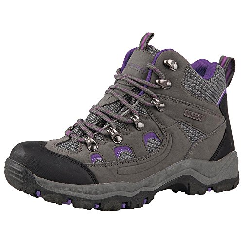 Mountain Warehouse Adventurer Womens Boots - Ladies Summer Shoes Grey 8 M US Women