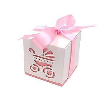Geschenkbeutel Gastgeschenk Tischdeko Geburt Rosa Weiß 6 St Sonstige Schnelle Farbe