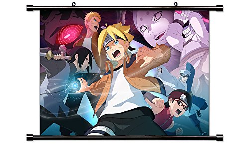 Boruto Anime Wall Scroll Poster  Inches