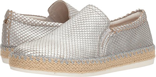 (Dr. Scholl's Women's Sunnie - Original Collection Silver Metallic Snake Print Leather 7 M US)