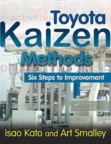 Toyota Kaizen Methods: Six Steps to Improvement (Toyota Kaizen Methods Six Steps To Improvement)