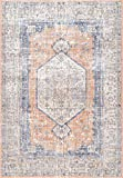 nuLOOM Jacquie Floral Vintage Area Rug, 2' x