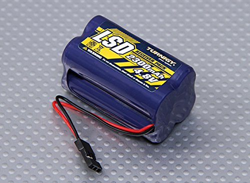 4.8v Pack Receiver (Turnigy Receiver Pack 4.8v 2300mah NiMH)