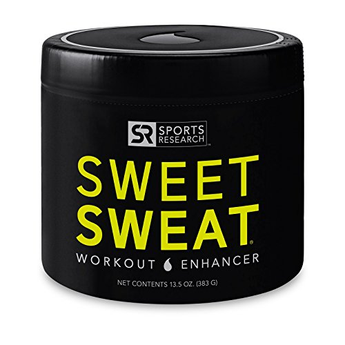 Large Product Image of Sweet Sweat 'XL' Jar (13.5oz) | Helps Increase Circulation, Sweating and Motivation During Exercise | Made in The USA