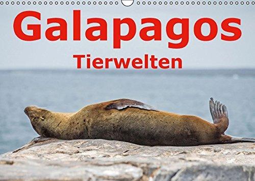 Galapagos – Tierwelten (Wandkalender 2016 DIN A3 quer): Die vielfältige Tierwelt der Galapagosinseln (Monatskalender, 14 Seiten ) (CALVENDO Tiere)