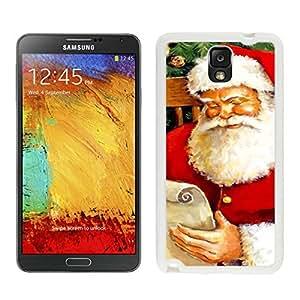 linJUN FENGHot Sell Santa Claus christmas White Samsung Galaxy Note 3 Case 3