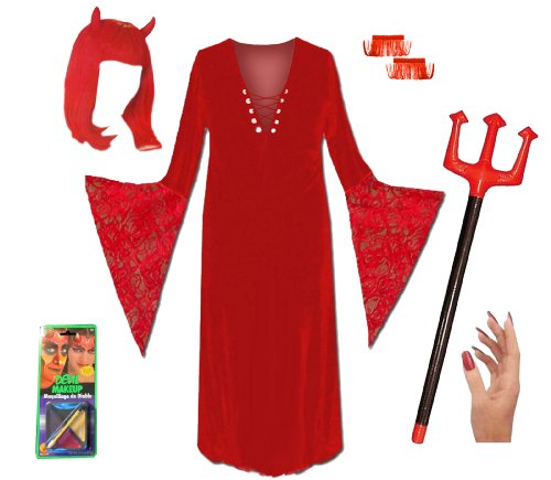 Sanctuarie Designs Women's Red Devil Deluxe Kit Plus