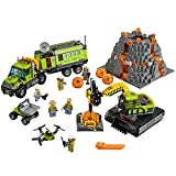 LEGO City Volcano Explorers 60124 Volcano Exploration Base Building Kit (824 Piece)