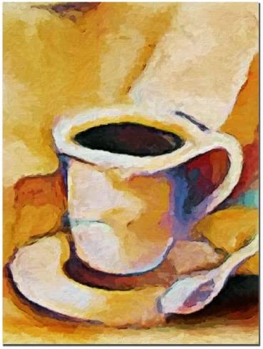 Coffee by Adam Kadmos, 18×24-Inch Canvas Wall Art