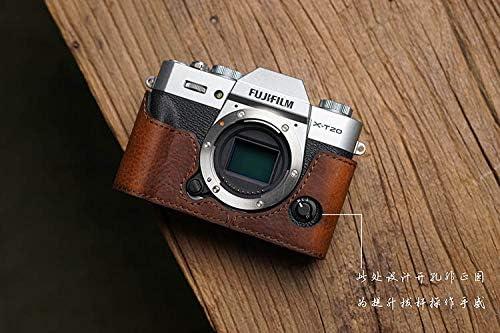 Mr.Stone Handmade Genuine Leather Camera case Camera Bodysuit For FUJI X-T20 XT20 XT10 camera PTN002