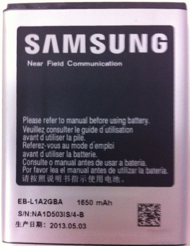 Samsung 1650 mAh Original Spare Battery for Samsung Galaxy S2 Mobile Phone (Retail Packaging) - i777, AT&T model only