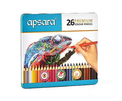 Apsara 101256005 Color Pencils - 26 Shades (Multicolor) (B07CZGC8DT) Amazon Price History, Amazon Price Tracker