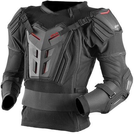 Evs Body Armor (EVS CE Version Men's Comp Suit Off-Road Motorcycle Body Armor - Black / Large)