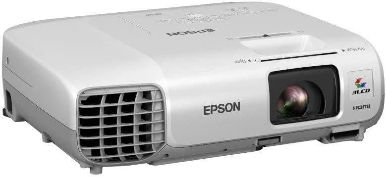 Epson V11H694040 - Proyector 3LCD portátil, color blanco: Amazon ...