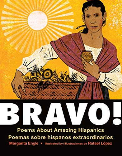 Bravo! (Bilingual board book - Spanish edition): Poems About Amazing Hispanics / Poemas sobre Hispanos Extraordinarios