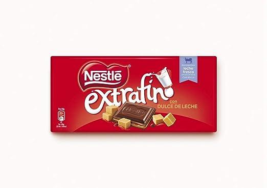 Nestlé Extrafino Dulce de Leche - Tableta de Chocolate - 25x120g