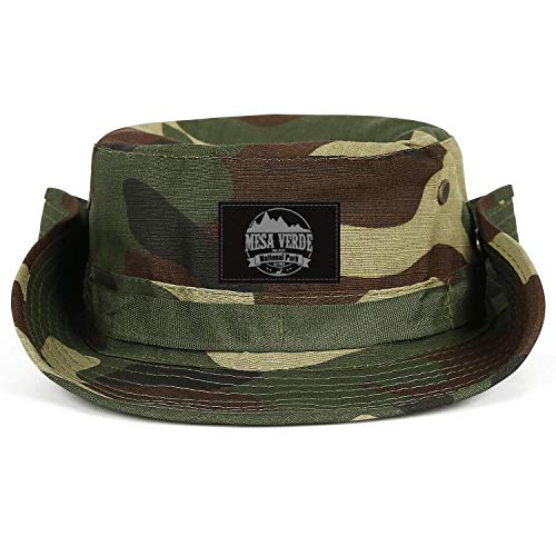 ERTUPBNXD Mesa Verde National Park Elev 8571 Fishing Hats for Women Men Hunting Breathable Bucket Cap