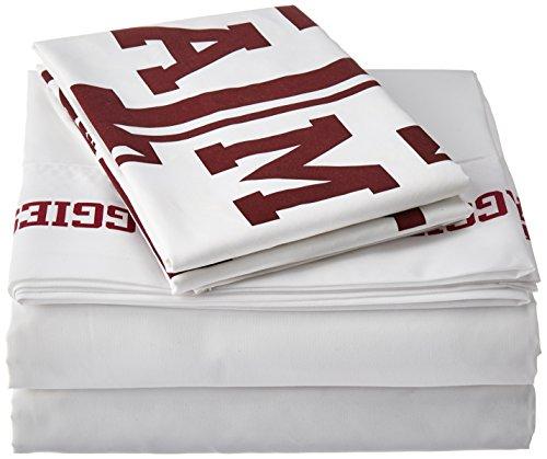 Texas Set (NCAA Texas A&M Aggies Micro Fiber Sheet Set (Twin))
