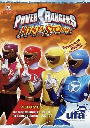 Power Rangers - Ninja Storm 05, Folgen 16-18 Alemania DVD ...