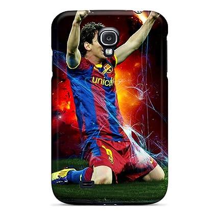 Amazon.com: Tpu Case Skin Protector For Galaxy S4 Football ...