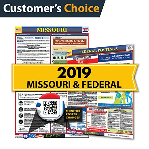 - 2019 Missouri State & Federal Labor Law Posters for Workplace Compliance ...
