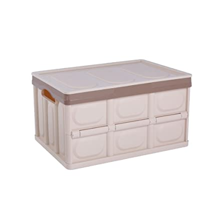 BOXLeader Caja de Superior Caja Plegable Plegable Caja Organizador Auto para Maletero Plegable plástico Caja Cajas