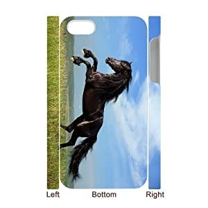 ALICASE Design Diy hard Case Horse For Iphone 4/4s [Pattern-1]