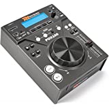 Power Dynamics PDX100 HiFi CD player Black - CD players (20 - 20000 Hz, 20 W, 220 - 240 V, 50 Hz, 290 mm, 226 mm)