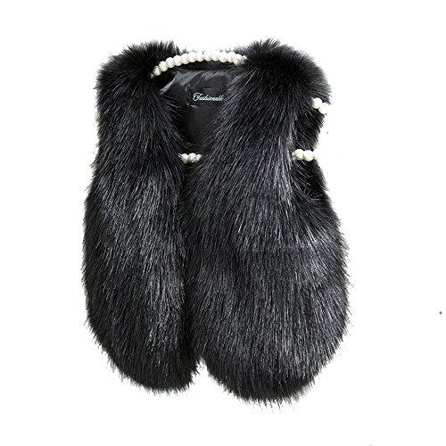 benetia Winter Vest Boys Girls Baby Faux Fur Size 2t 18 Months
