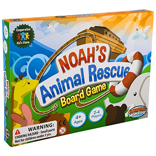 Noah's Animal Rescue! #1 Cooperative Game for Kids – Noah's Ark Learning Board Game for Children Ages 4 to 8 - Easy to Learn and Teaches New Skills Through Play