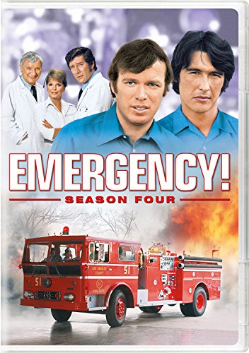 DVD : Emergency!: Season Four (Boxed Set, Repackaged, 5PC)