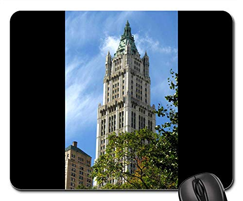 Mouse Pads - Woolworth Building Manhattan Skyscraper New York Ny ()
