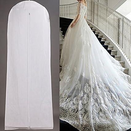 Protector de fundas para vestidos de novia para boda, colgante de novia, traje de