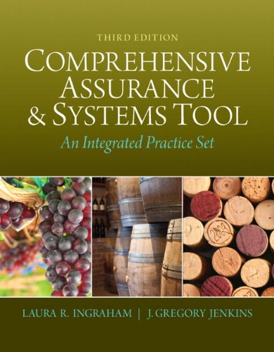Book cover from Comprehensive Assurance & Systems Tool (CAST): An Integrated Practice Set (3rd Edition)by Laura R. Ingraham
